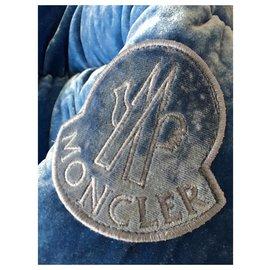 Moncler-Doudoune Moncler-Bleu