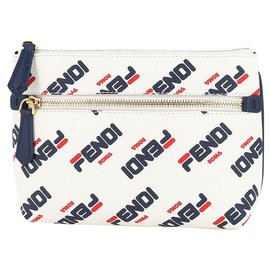 Fendi-Fendi Clutch bag-White