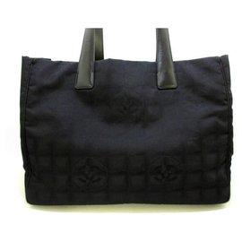 Chanel-Chanel tote bag-Black