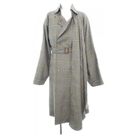 Gucci-Wool coat with detachable scarf-Multiple colors