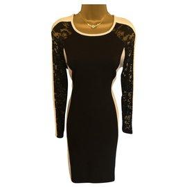 Joseph Ribkoff-Dresses-Black,White