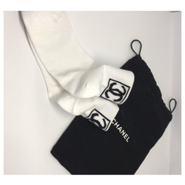 Chanel-Chanel socks-White