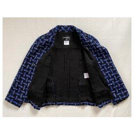 Chanel-Jackets-Black,Blue