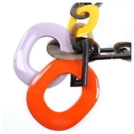 Hermès-Collier Hermès-Multicolore