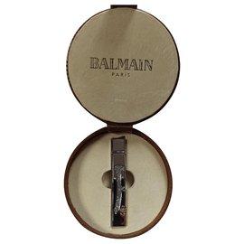Balmain-Purses, wallets, cases-Silvery