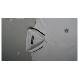 Dolce & Gabbana-Polos-White