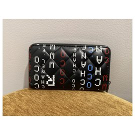 Chanel-Wallets-Black,White,Red,Blue