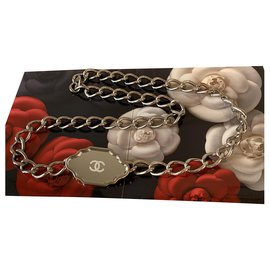 Chanel-Belts-Silvery