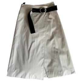 Céline-Skirts-Grey