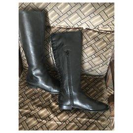Alexander Mcqueen-Sublime boots-Black