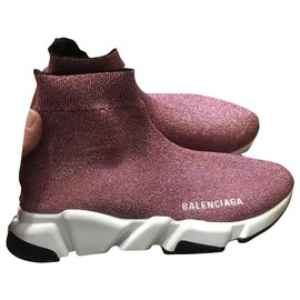 Balenciaga-Speed-Pink