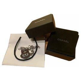 Chanel-Pendant necklaces-Black