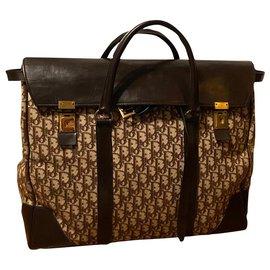 Christian Dior-Christian Dior travel bag-Chestnut