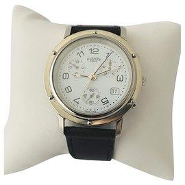 Hermès-Hermès Chronograph-White