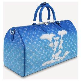 Louis Vuitton-LV Keepall Clouds new-Blue
