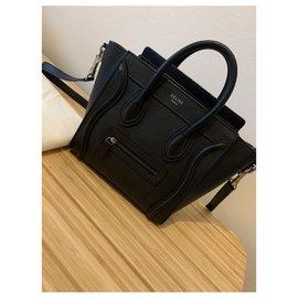 Céline-Nano Luggage-Black