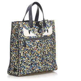 Fendi-Fendi Multi Monster Nylon Tote Bag-Multiple colors