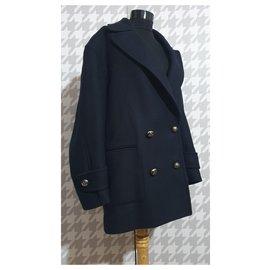 Marina Yachting-Coats, Outerwear-Navy blue