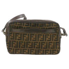 Fendi-Fendi Shoulder Bag-Brown