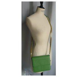 Stella Mc Cartney-STELLA MC CARTNEY Messenger bag new condition Green-Green