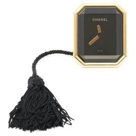 Chanel-PREMIERE CLOCK HORLOGE H0005-Noir,Doré