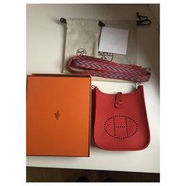 Hermès-Mini TPM Evelyne-Red