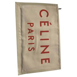Céline-Celine clutch 'made in'-Beige