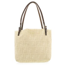 Fendi-Fendi tote bag-White