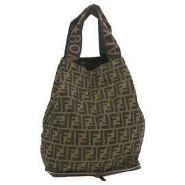 Fendi-Fendi tote bag-Brown