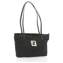 Fendi-Fendi tote bag-Black