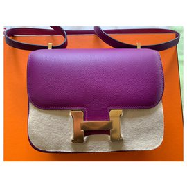 Hermès-mini Constance 18-Purple