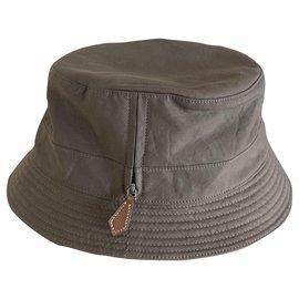 Hermès-Hats-Taupe