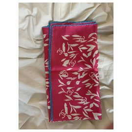 Chanel-Silk scarves-Red