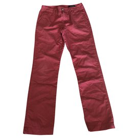 Polo Ralph Lauren-Un pantalon-Rouge,Bleu Marine