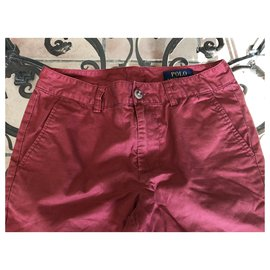 Polo Ralph Lauren-Pants-Red,Navy blue