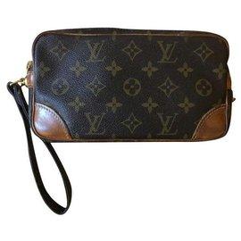 Louis Vuitton-Marly wrist strap-Brown