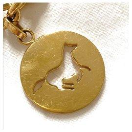 Hermès-Rare breloque sac Hermes Gold Breloque-Bijouterie dorée