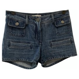 Chanel-Shorts-Dark blue
