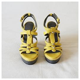 Balenciaga-Sandals-Yellow