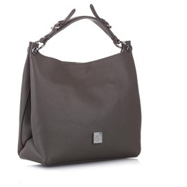 Mulberry-Mulberry Brown Freya Leather Satchel-Brown
