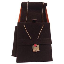Hermès-Pendentif Eileen Hermès-Orange