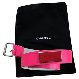 Chanel-Belts-Pink