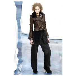 Chanel-14,5K$ new leather biker coat-Multiple colors