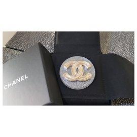 Chanel-Chanel broche-Doré