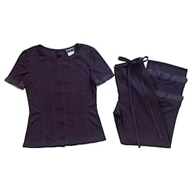 Chanel-Jumpsuits-Purple