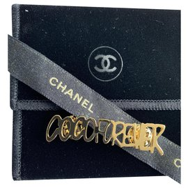 Chanel-Broches et broches-Doré