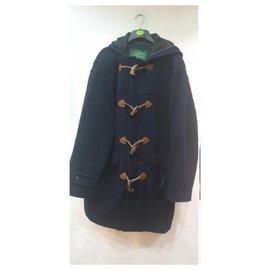 Autre Marque-Brooksfield monsizeomery coat-Navy blue