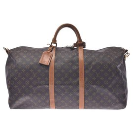Louis Vuitton-Louis Vuitton Keepall 60-Beige