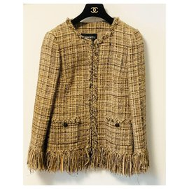 Chanel-lesage tweed jacket-Multiple colors