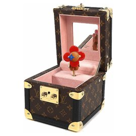 Louis Vuitton-LOUIS VUITTON Boite Vivienne Music Box accessory case Music Box unisex Other accessories GI0267-Other